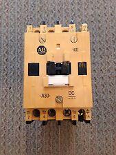 NEW ALLEN-BRADLEY 100-A30NZ243 SERIES B 3 POLE CONTACTOR - 24VDC COIL