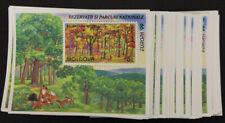 1999 Moldawien; 200 mal Bl. Europa: Hochwald, Bl. 18, postfrisch/MNH, ME 1600,-