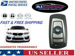 OEM Unlocked Keyless Remote Key Fob 4 buttons BMW SMART PROXIMITY YGOHUF5662