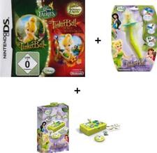 Nintendo DS 3DS TINKERBELL SUPERPACK 1 + 2 + Magic Light Stylus + Koffer Set