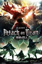 Attack on Titan - Season 2 Anime Wall Poster ~22x34 inches ~NEW~ FREE S/H