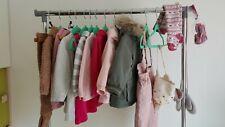 18 Teile Gr. 68 / 74 Kleidung Mädchen Kleiderpaket Schlafsack Sommer Herbst