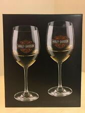 Harley-Davidson Bar & Shield Wine Glass Set HDX-98708