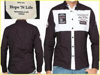 HOPE & LIFE Camicie Francese Uomo S M o L AL PREZZO DI SALDI  HL01 T1G