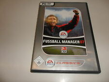 PC  Fussball Manager 07 [EA Classics]