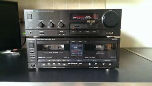 Technics SU-X911 Digital Amplifier &  RS-X911 Stereo Double Cassette Deck