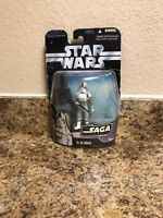 STAR WARS BLACK SAGA SERIES #009 BATTLE OF HOTH IMPERIAL AT-AT DRIVER FIGURE
