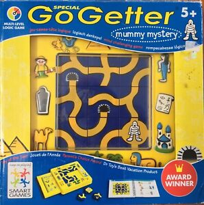 Puzzle Mummy Mystery Logic Special Smart Games Go Getter Think Isolate Travel