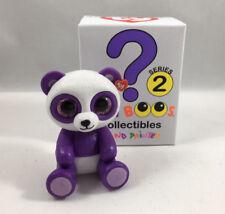 TY Beanie Boos Mini Boo SERIES 2 Collectible Figure BOOM BOOM the Panda (2 inch)