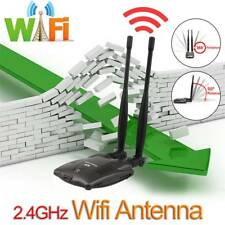 3KM Max 2.4GHz 5dBi RP-SMA Connector Tilt-Swivel Wireless WiFi Antenna Stable CH