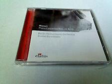 """DANIEL BARENBOIM """"MOZART PIANO CONCERTOS NOS 22 & 23"""" CD 6 TRACKS COMO NUEVO"""
