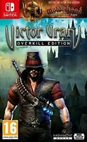Victor Vran Overkill Edition Nintendo Switch Role Playing RPG Demon Slaying Game