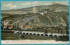 Sachsenburg a.d. Unstrut farbige ungelaufene Postkarte aus ca. 1910!