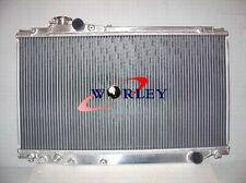 3 Row Toyota Supra JZA80 2JZ-GTE Turbo Aluminum Alloy Radiator 1993-1998 94 95