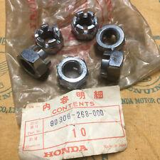 Honda NOS rear axle nut CB CL 72 77 450 500 550 750 GL 1000 CR MT XL 250 350