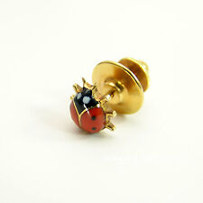 Cartier NY LADYBUG Coccinella pin, brooch-smalto e 18kt ORO/VTG. BOX