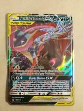 Greninja & Zoroark Tag Team GX 107/214 Unbroken Bonds Pokemon Card NM Ultra Rare