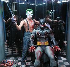 Custom 1/6 12 inch Batman Joker Torture scene Hot Toys Sideshow parts Mezco