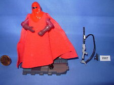 Star Wars 2005 ROYAL GUARD Senate Security (RED) ROTS 3.75 inch Figure COMPLETE