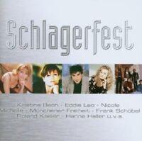 SCHLAGERFEST CD MIT HANNE HALLER NICOLE UVM NEUWARE