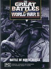 The Great Battles Of World War II DVD - The Battle Of North Africa NEW & SEALED