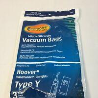 HOOVER WIND TUNNEL TYPE Y VACUUM BAGS 3 PACK New