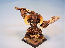 Confrontation painted miniature Minotaur