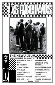 THE SPECIALS REPLICA 1979 RECORD RELEASE POSTER