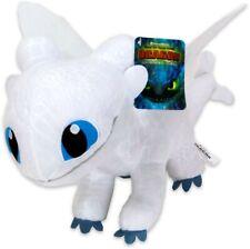 Dreamworks Dragons The hidden world Plüsch ca. 22-25cm - Tagschatten (weiß)