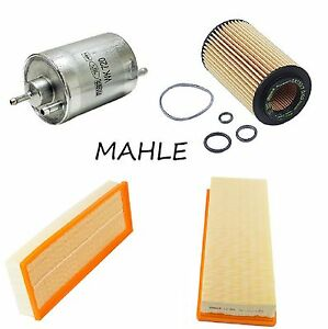Tune Up Kit Air Paper Filter Oil Fuel Filters for Mercedes-Benz S430 2000-2003