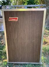 VTG Coleman Cooler Upright Ice Chest Box fridge USA Camping Outdoor