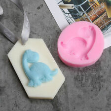 New Dino Dinosaur Silicone Mould For Fondant Paste Chocolate Icing Crafts