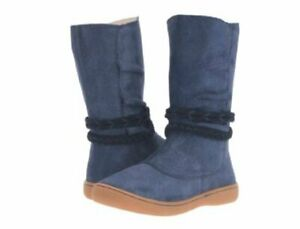 NIB LIVIE & LUCA Shoes Boots Calliope Navy Blue Sparkle toddler 4