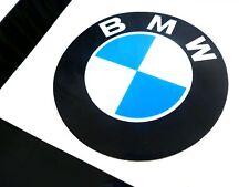 Hochglanz BMW Aufkleber Logo 55mm Emblem Schriftzug selbstklebend Lichtecht NEU