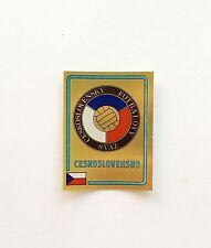 Panini Euro 84 1984 Ceskoslovensko Badge  Number 232 With Original Back
