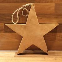 Stern aus Mangoholz 25cm Ø ca. 2cm dick zum Aufhängen Weihnachten Dekoration