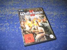 PC Jeu Wolfschanze 2 II-Le Code de la victoire-avec guide-ETAT NEUF!