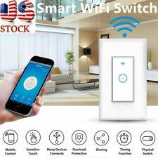Smart WiFi Light Wall Switch Remote For Alexa & Google IFTTT Control Smart Life