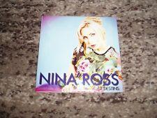 "Nina ross rare cd single promo france ""2 destins"""