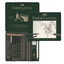 llena de lápiz de grafito Pitt Graphite Pure 9b Faber-Castell 117309