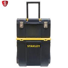 Rolling Tool Box Organizer Wheels Workshop Cart Storage Portable Handle Plastic