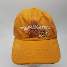 Disneyland Resort orange hat cap WANAHAKALOOGI Nemo Tiki 100% cotton adjustable