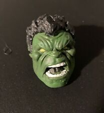 Marvel Legends- (Green) Red Hulk Head: Painted Resin Cast For Bafs Or Modding