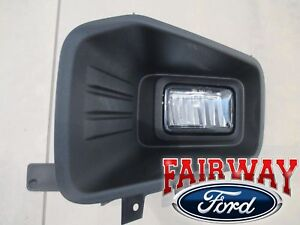 18 thru 20 F-150 OEM Ford Fog Lamp Light w/ Bulb Left Driver LED