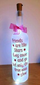 LED Light Up Bottle lovely  Gift for Friends  Christmas Birthday