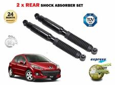 FOR PEUGEOT 207 1.4 1.6 16V HDi 2006->NEW 2X REAR LEFT RIGHT SHOCK ABSORBER SET
