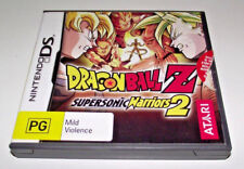 Dragon Ball Z Supersonic Warriors 2 Nintendo DS 2DS 3DS Game *Complete*