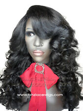 EXCLUSIVE! Darling black Body curl lace front wig Lace wig blonde kardashian wig