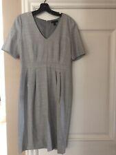 J.CREW Suiting Wool Sheath Dress Gray 10T