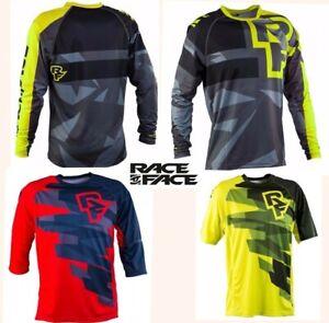 lot of 3 RACE FACE cycling jerseys mountain bike enduro freeride quick dry men M